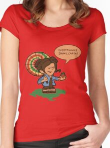 Firefly Everything's Shiny Women's Fitted Scoop T-Shirt