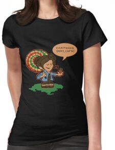 Firefly Everything's Shiny Womens Fitted T-Shirt