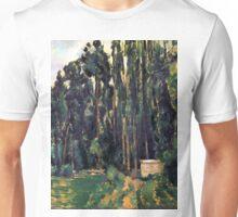 1880 - Paul Cezanne - Poplars Unisex T-Shirt