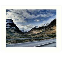 Glencoe HDR  , the Highlands , Scotland Art Print