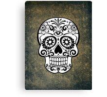Modern Skull Canvas Print