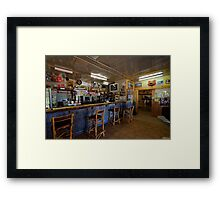 Shindy's Inn, Louth, central NSW. Framed Print
