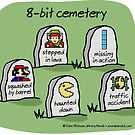 8-bit cemetery by WrongHands