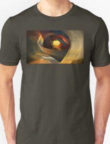 Blue Gold Ribbons T-Shirt