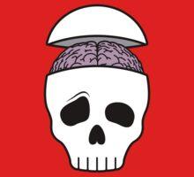 Brainy Skull One Piece - Long Sleeve