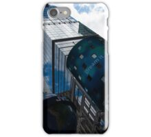 Neon Lights and Ads - Times Square, Manhattan, New York City, USA iPhone Case/Skin