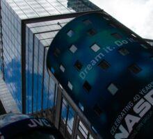 Neon Lights and Ads - Times Square, Manhattan, New York City, USA Sticker