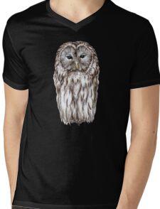Ural white owl Mens V-Neck T-Shirt