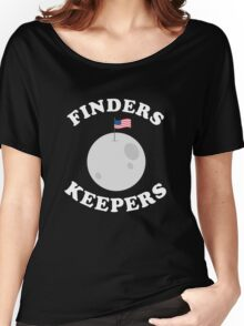 Finders Keepers USA Moon Shirt Women's Relaxed Fit T-Shirt