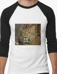 Leopard Men's Baseball ¾ T-Shirt