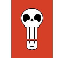Long Skull Photographic Print