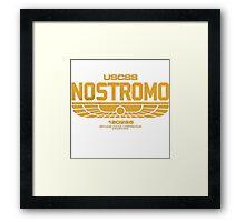 USCSS Nostromo Framed Print