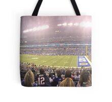 Colts-Patriots 2015 Tote Bag