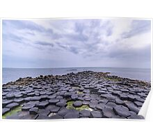 Rocks of the Giant's Causeway Poster