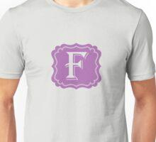F Turquoise Unisex T-Shirt