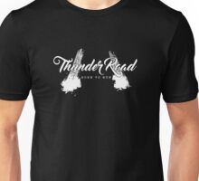 Thunder Road Tires - Dark Unisex T-Shirt