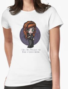Rowena Is a Career Woman Womens Fitted T-Shirt