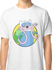 Adventure Time Finn - SCIENCE Classic T-Shirt