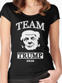 Team Trump Women's Fitted Scoop T-Shirt