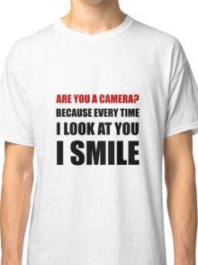 Camera Smile Classic T-Shirt