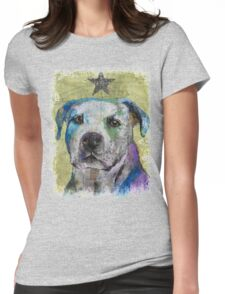 Pit Bull Terrier Womens Fitted T-Shirt