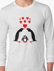 Penguins family Long Sleeve T-Shirt