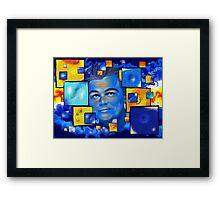Capribellus - famous face Framed Print