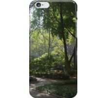 A Slice of London at Tudor City Park iPhone Case/Skin