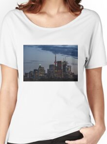 Toronto Skyline at Dusk Women's Relaxed Fit T-Shirt