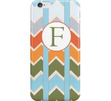 F Chevron iPhone Case/Skin