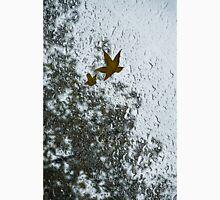 The Beauty of Autumn Rains - a Vertical View Unisex T-Shirt