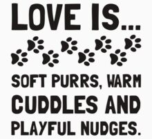 Love Is Soft Purrs Baby Tee