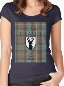 Outlander/Clan Fraser Women's Fitted Scoop T-Shirt