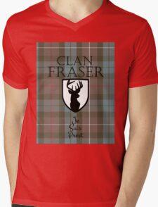 Outlander/Clan Fraser Mens V-Neck T-Shirt