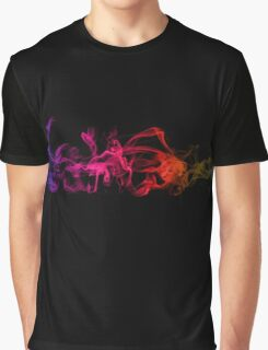 Colorful Crazy Cool Vape - Abstract Clouds Graphic T-Shirt