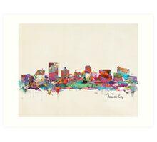 atlantic city new jersey Art Print