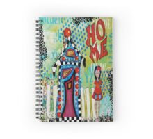 Home Mixed Media Spiral Notebook