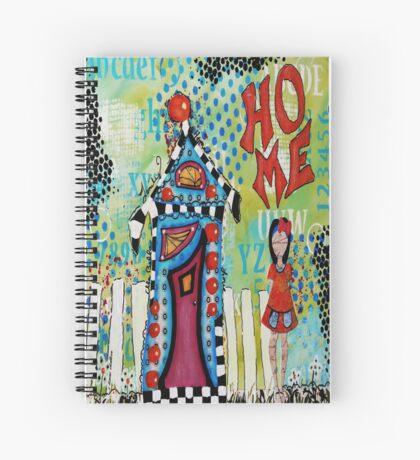 Home Girl  Spiral Notebook