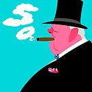 Winston Churchill by drawgood