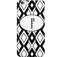 F Diamonds iPhone Case/Skin