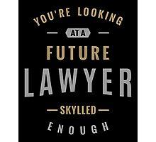 Future Lawyer Photographic Print