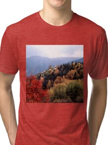 Autumn colours in the Pyrenees Tri-blend T-Shirt