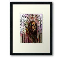 Whispers of the Owl Framed Print