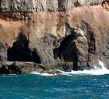 Coastal Cliffs Canaria by jonvin