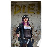 Tankita - Apocalyptic Dieselpunk Pinup Poster