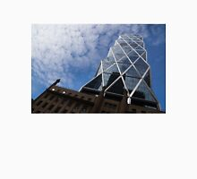 Lines, Triangles and Cloud Puffs - Hearst Tower in Manhattan, New York City, USA Unisex T-Shirt