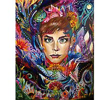 Holly Golightly Carnival Photographic Print