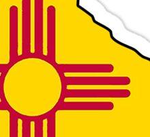 New Mexico flag skate Sticker