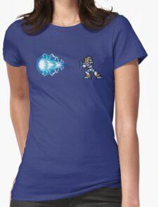 MMX Hadouken - Light Armor, Mega Man X Womens Fitted T-Shirt
