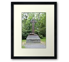Irish Brigade Monument Framed Print